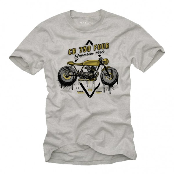 Herren T-Shirt - CB750 Super Bike