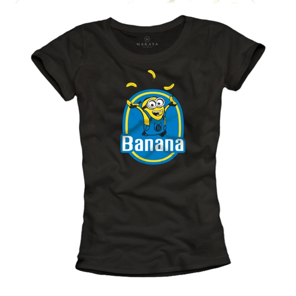 Damen T-Shirt - Banana
