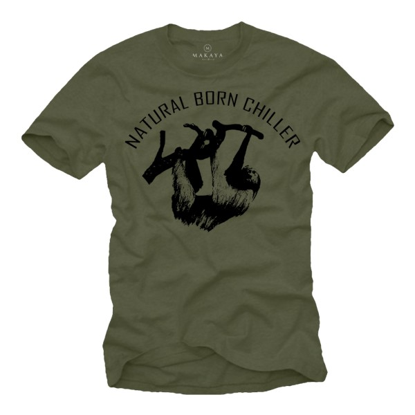 Herren T-Shirt - Natural Born Chiller