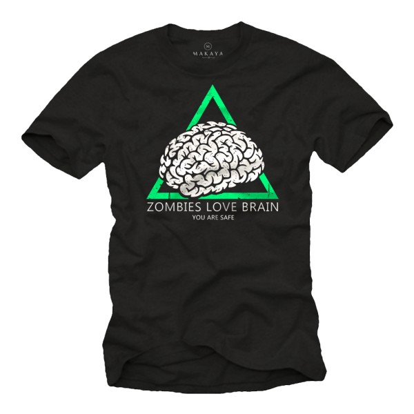 Herren T-Shirt - Love Brain