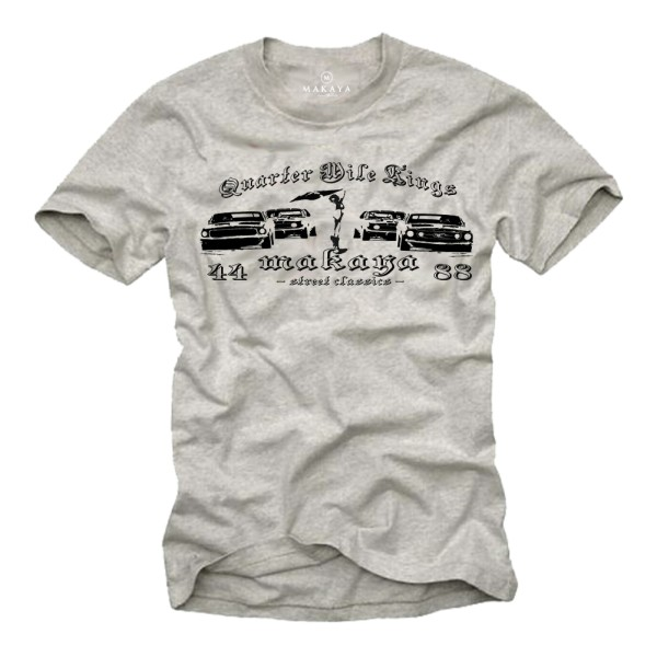 Herren T-Shirt - Quarter Mile Race
