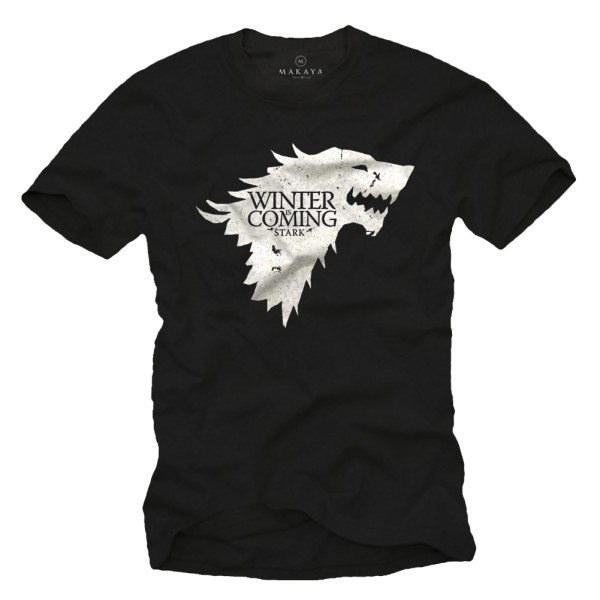 Herren T-Shirt - Winter is Coming Stark