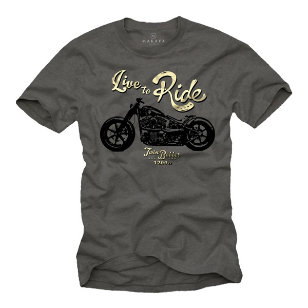 Herren T-Shirt - Live to Ride