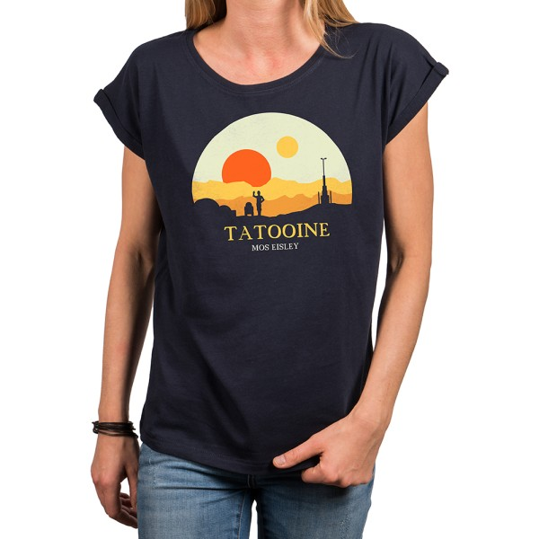 Damen Shirt - Tatooine