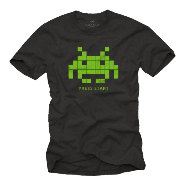 Herren T-Shirt - Space Invaders