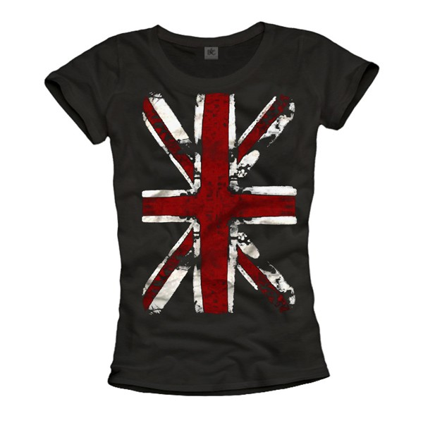 Damen T-Shirt - Union Jack