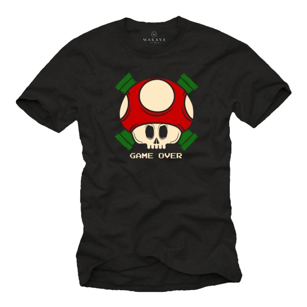 Herren T-Shirt - Super Mario Game Over