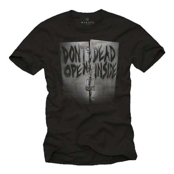 Herren T-Shirt - Don't open