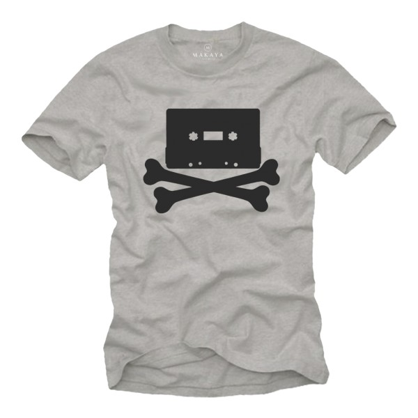 Herren T-Shirt - Vintage Kassette Mix Tape
