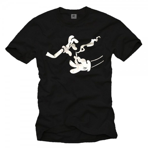 Herren T-Shirt - Mickey on Dope