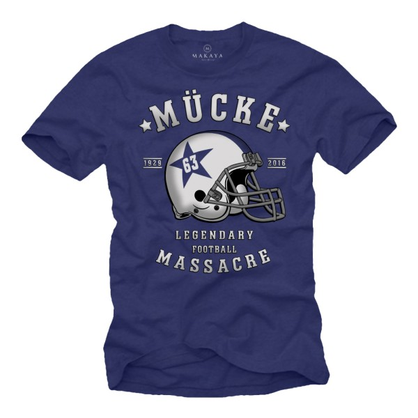 Herren T-Shirt - Football Helm