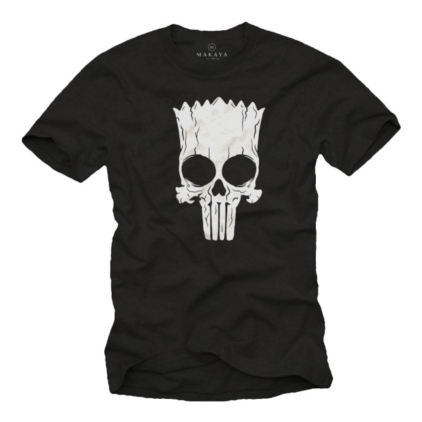 Herren T-Shirt - Punisher Bart